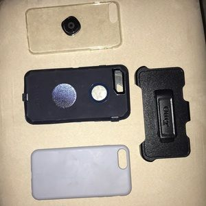 Lot Of Iphone 7/8 Plus Protective Cases!